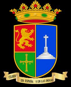 Versión del escudo con el orden del texto de izquierda a derecha - Celoriu.com