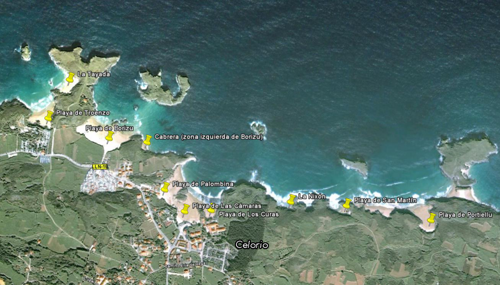Playas de Celorio - Celoriu.com