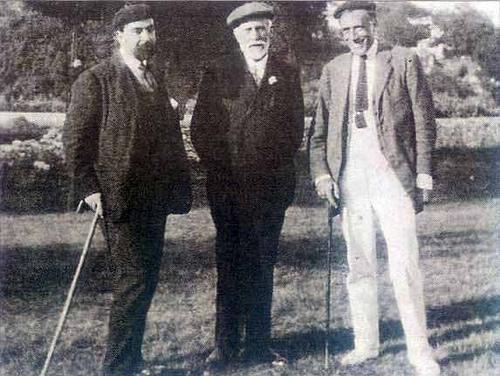 Pablo Iglesias en Celorio en 1921