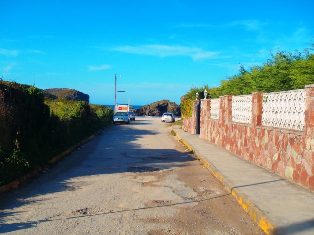 Accesos a la playa de Borizu en Celorio - Celoriu.com