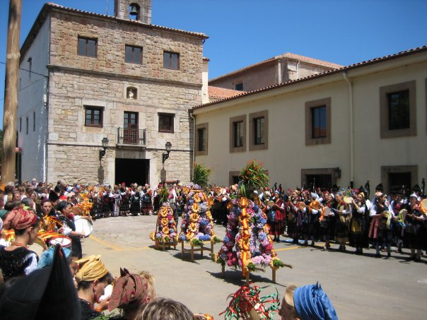Fiestas del Carmen en Celorio, Llanes - Celoriu.com