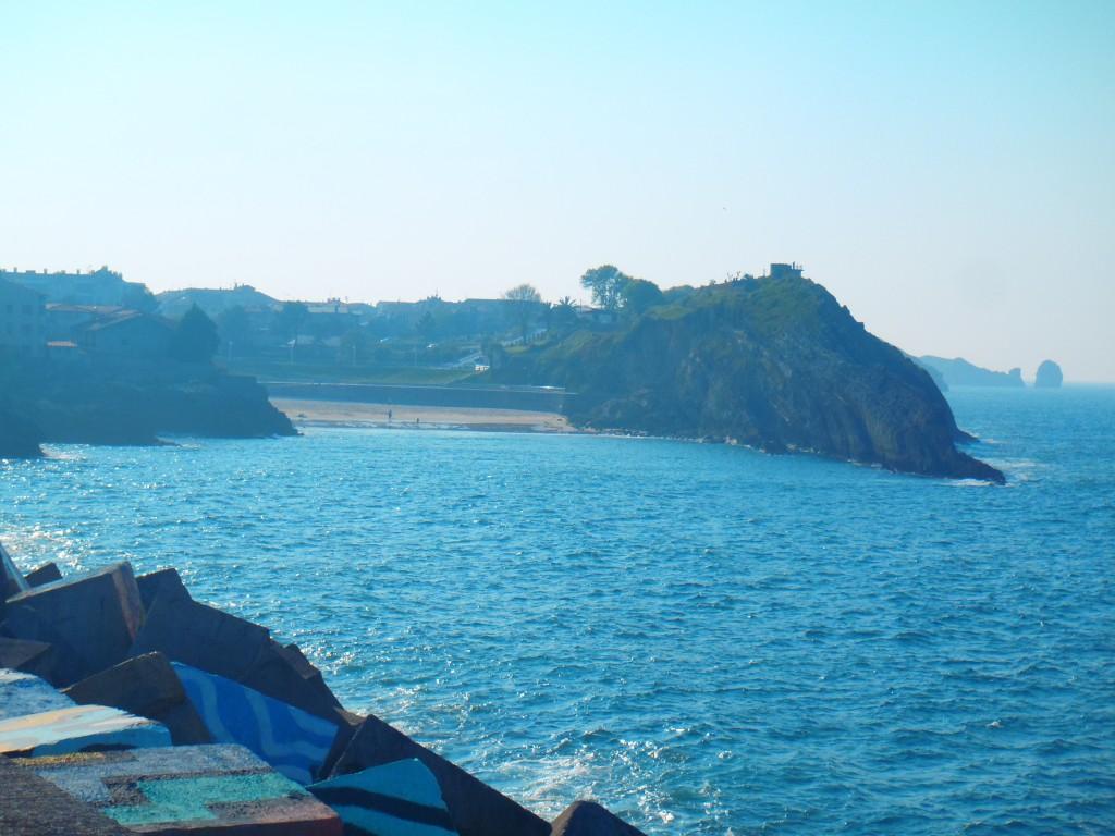 Al fondo, el paseo San PEdro, donde ocurrieron los hechos - Celoriu.com