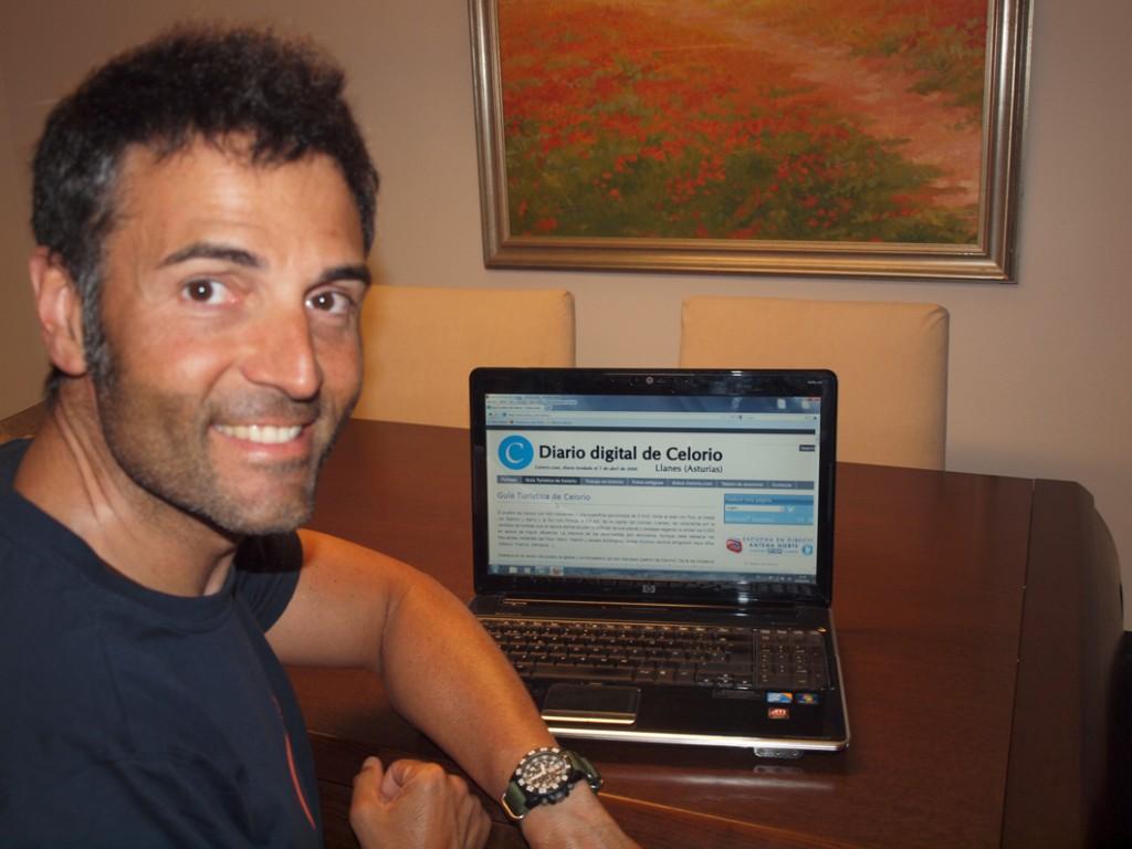 Rafa Lomana, durante la entrevista que Celoriu.com le hizo la temporada pasada - Celoriu.com