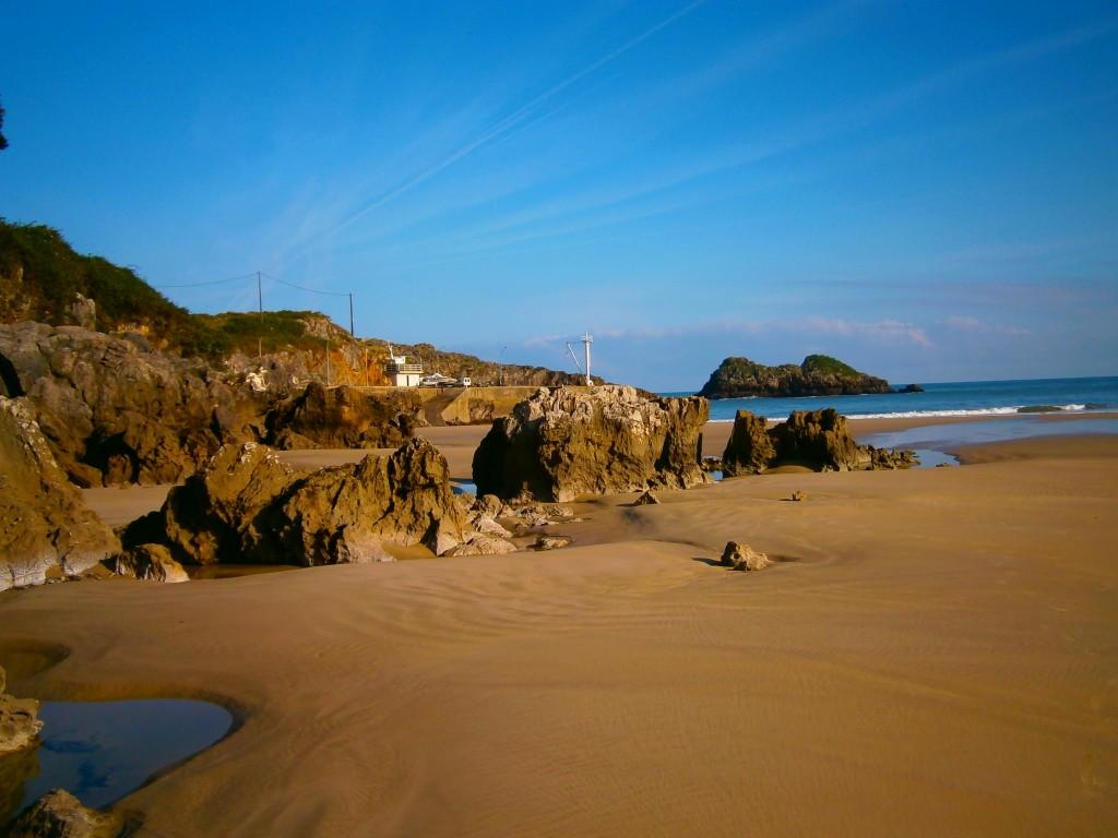 Playa de Palombina en Celorio, Llanes - Celoriu.com