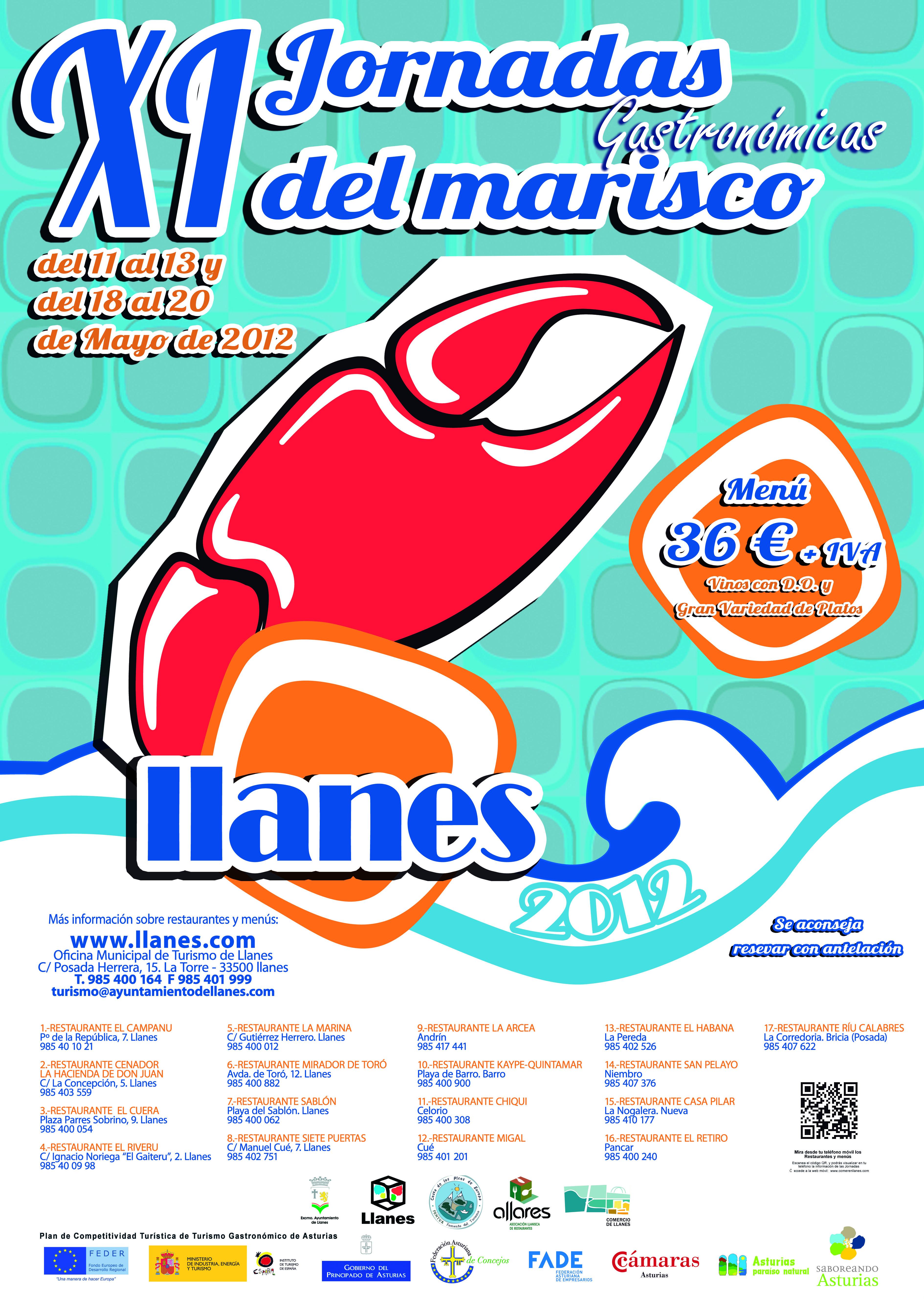 Cartel de las Jornadas del Marismo de Llanes - Celoriu.com