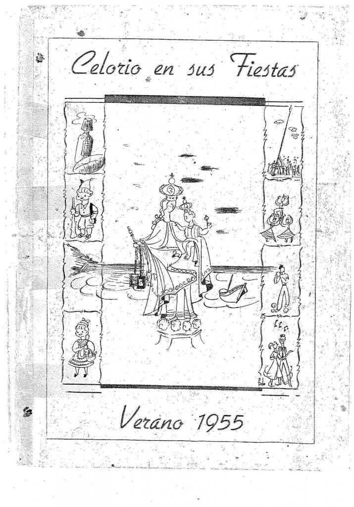 PROGRAMA FIESTAS CELORIO 1955_PORTADA