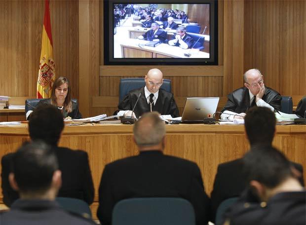 El juez Bermúdez, en un juicio celebrado en la Audiencia Nacional - Celoriu.com