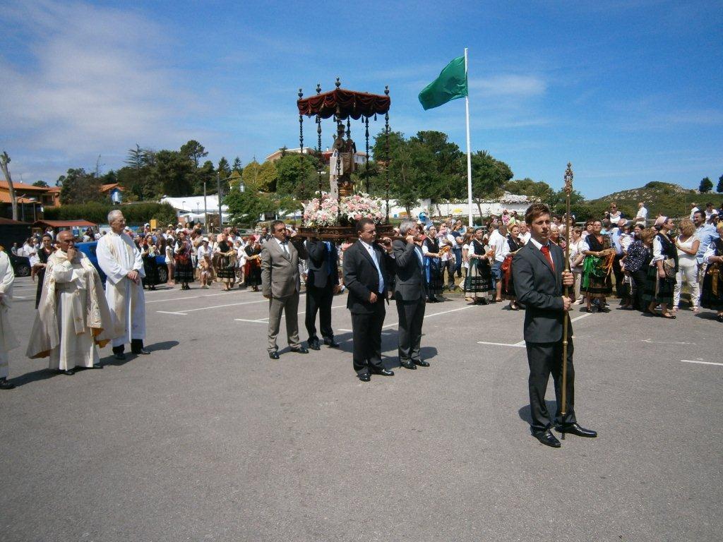La virgen en la Rotonda, donde se le canta la Salve Marinera - Celoriu.com