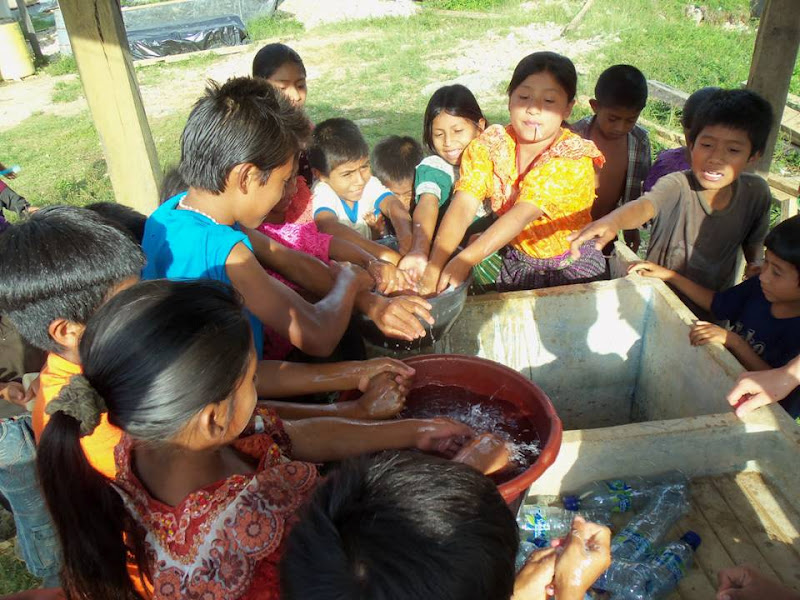 Una de los talleres desarrollados este año en Guatemala por la ONG Cultura Indígena - Celoriu.com