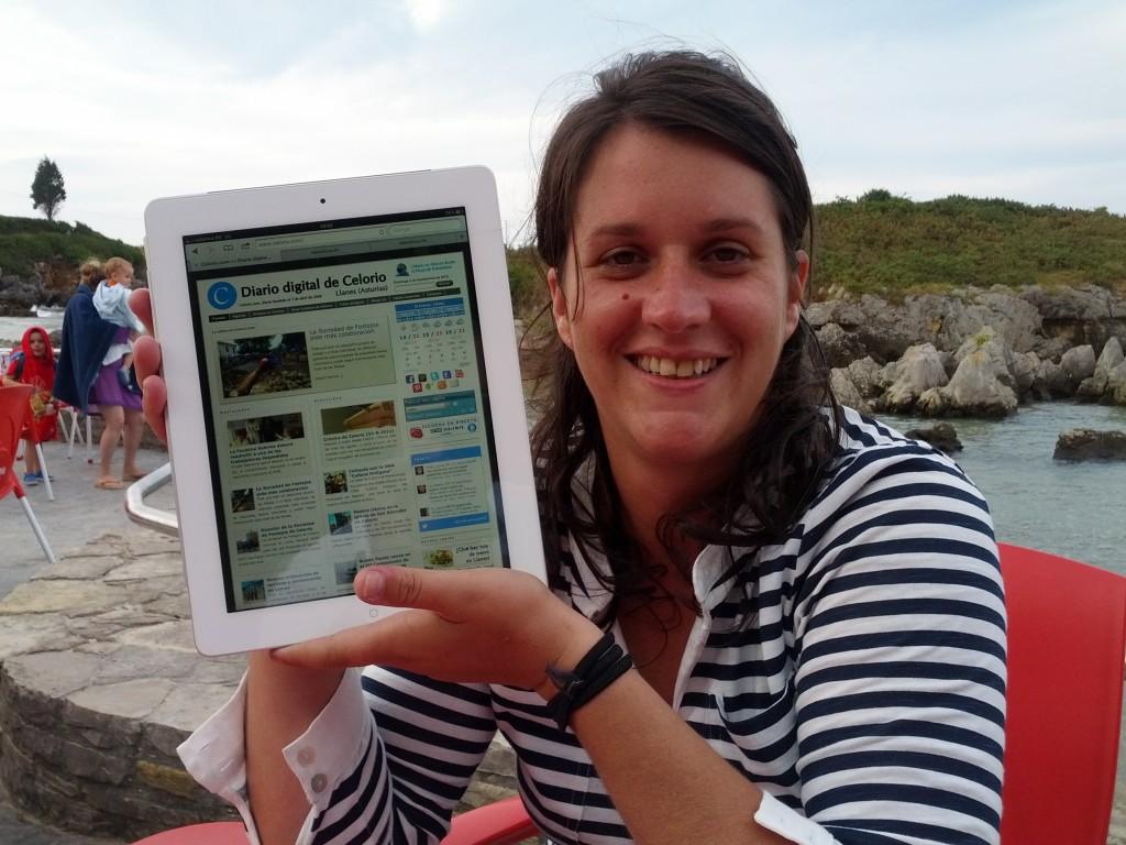 Eliana Álvarez es una fiel lectora de Celoriu.com desde Nueva York, donde reside - Celoriu.com