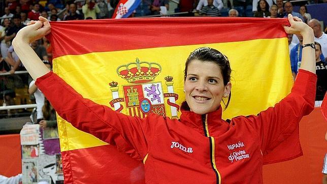 La atleta cántabra Ruth Beitia da pistas sobre su futuro en primicia en Celoriu.com