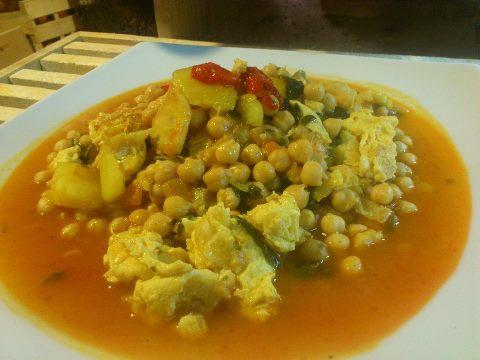 """Uno de los platos del desarme servidos ayer en el Restaurante """"El Arco"""" de Celorio - Celoriu.com"""