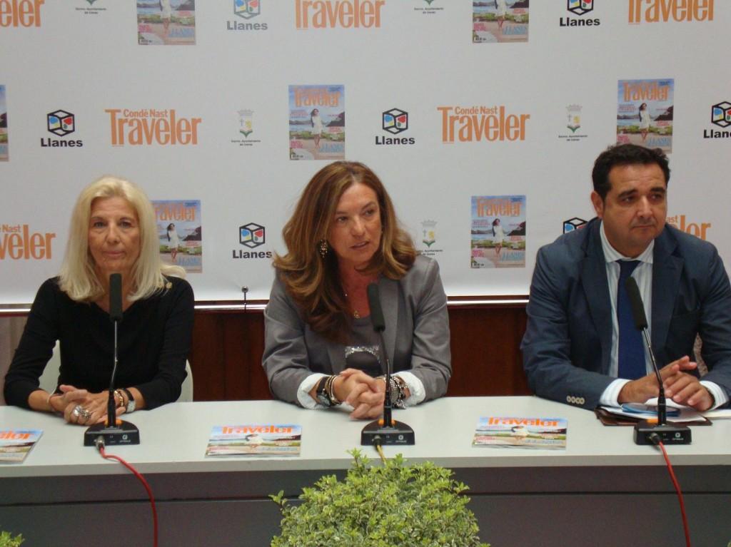 Julio González Zapico el pasado sábado en su visita a Llanes - Celoriu.com