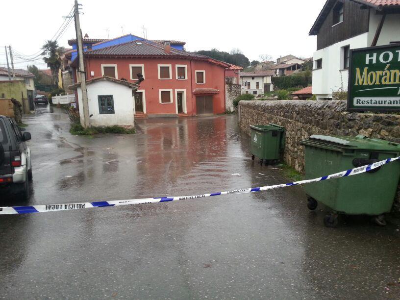 En Celorio, la Calluca cortada por inundaciones desde hoy sábado - Celoriu.com