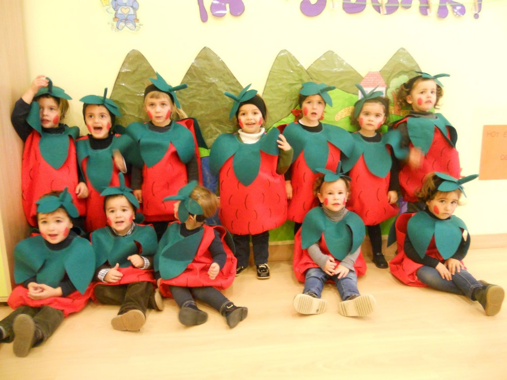 Carnaval en la escuela de 0 a 3 años en Posada de Llanes - Celoriu.com