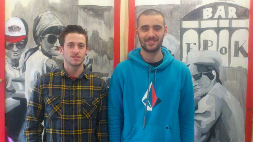 Carlos Mallada y Javi Gavito, de la Junta Vecinal de Celorio - Celoriu.com