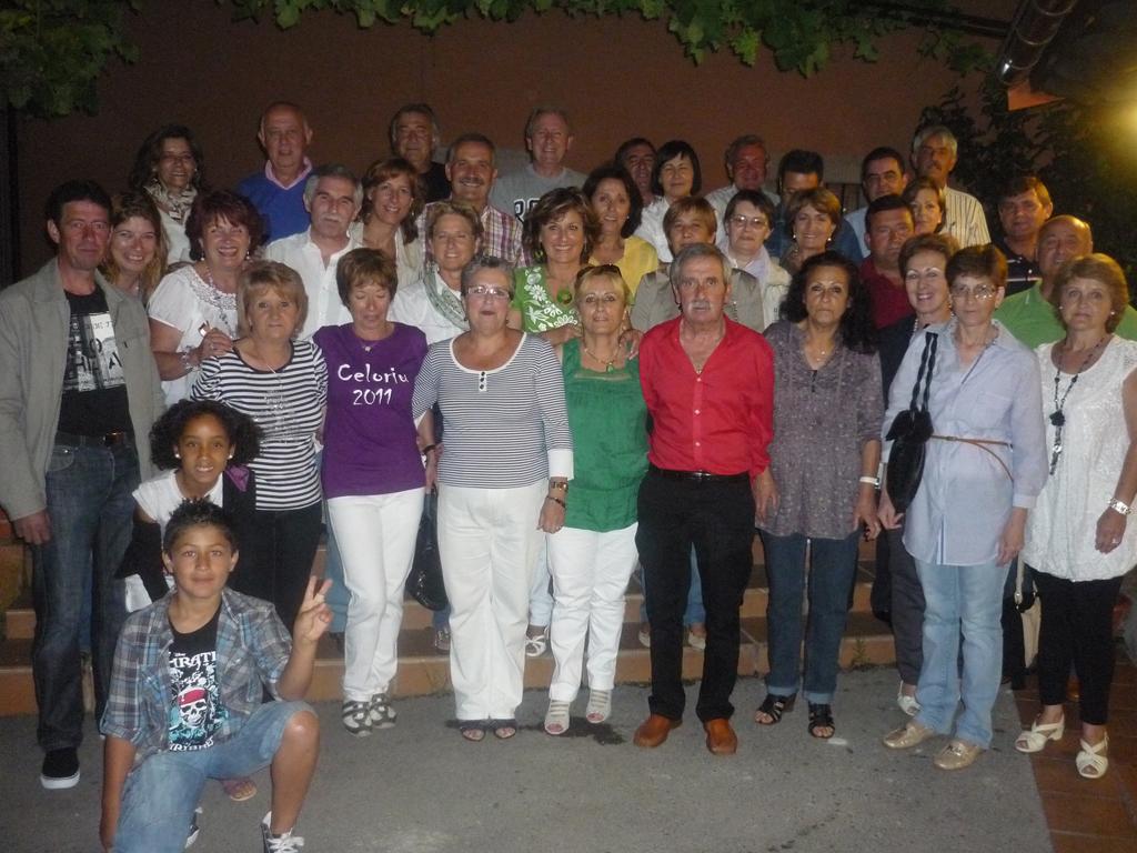 Cena de cincuenteros en Celorio Llanes - Celoriu.com