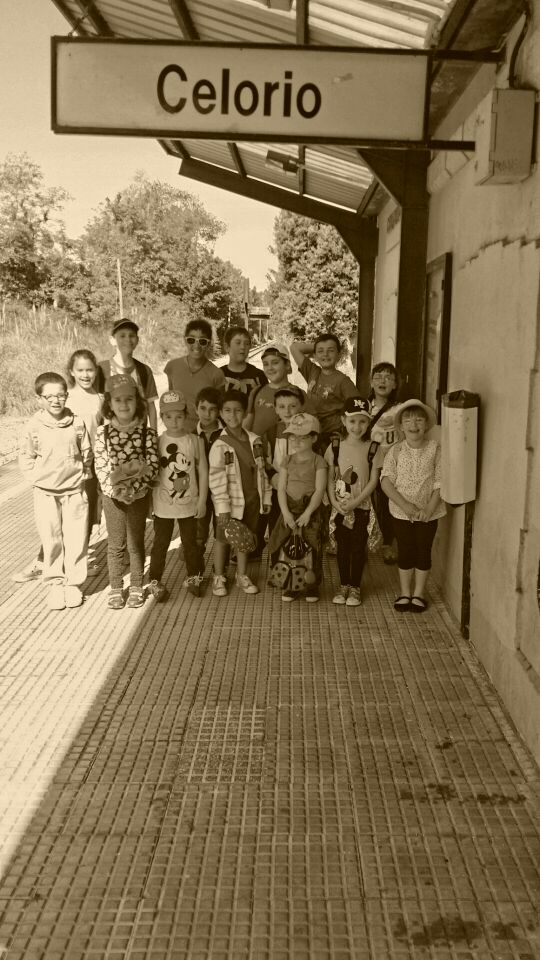 Excursión a Covadonga de los niños de Celorio - Celoriu.com